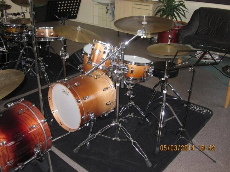 Jazz drumkit student front