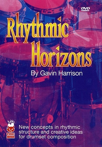 For sale Gavin Harrison Rhythmic Horizons DVD NEW