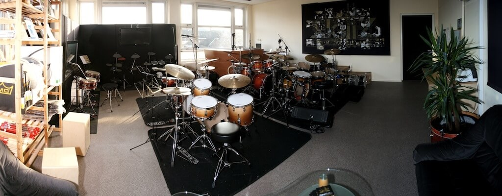 Drumschool panorama 1