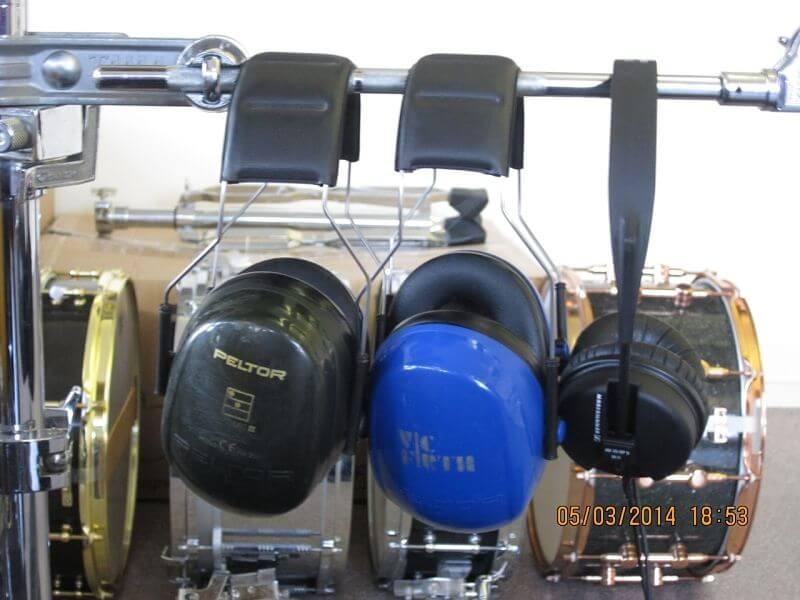 Drumschool Limburg gehoorbescherming en koptelefoons