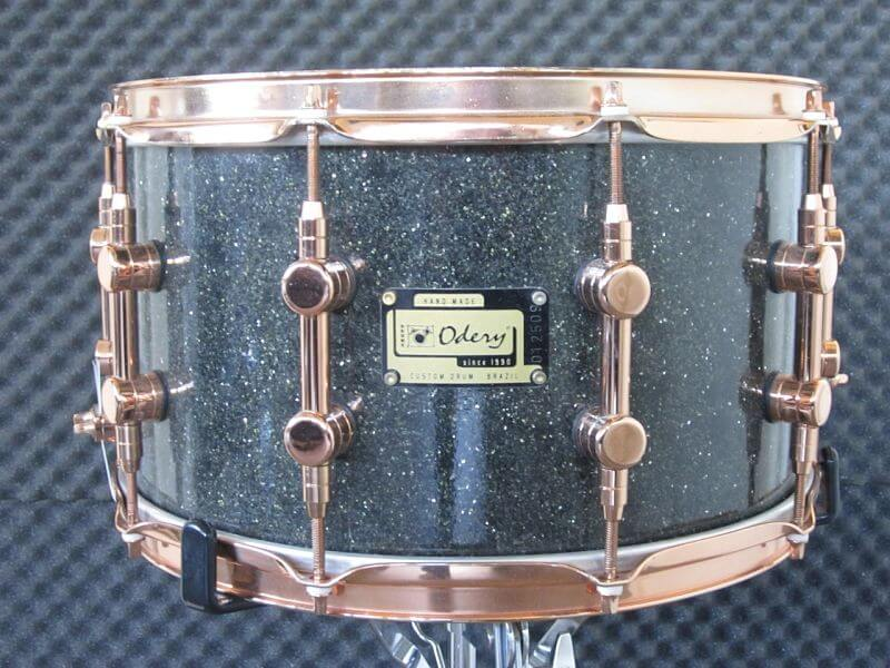 For sale Beautiful and rare Odery Custom Imbuia 14 x 8 snare