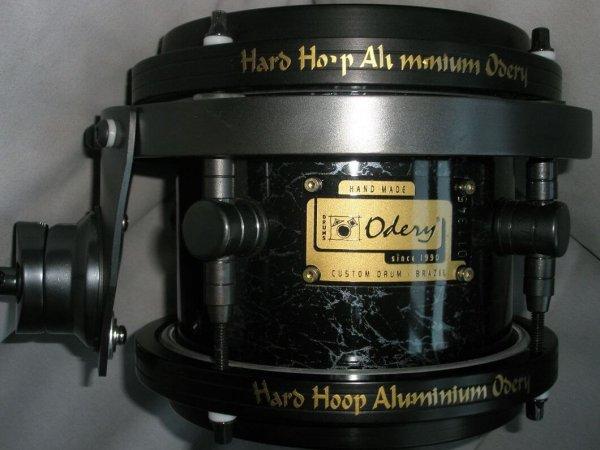 Odery Custom 8-delig zwart parelmoer tom
