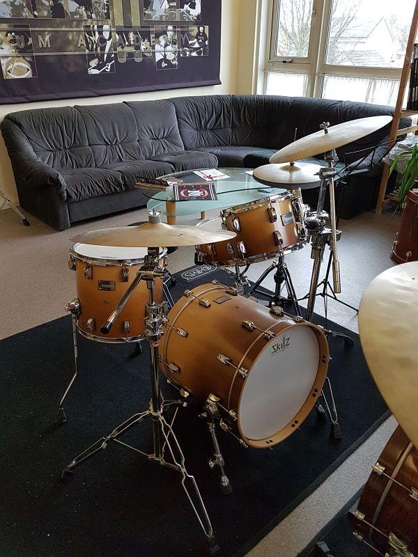 Shop Drumkits Odery Eyedentity Imbuia jazz front 2