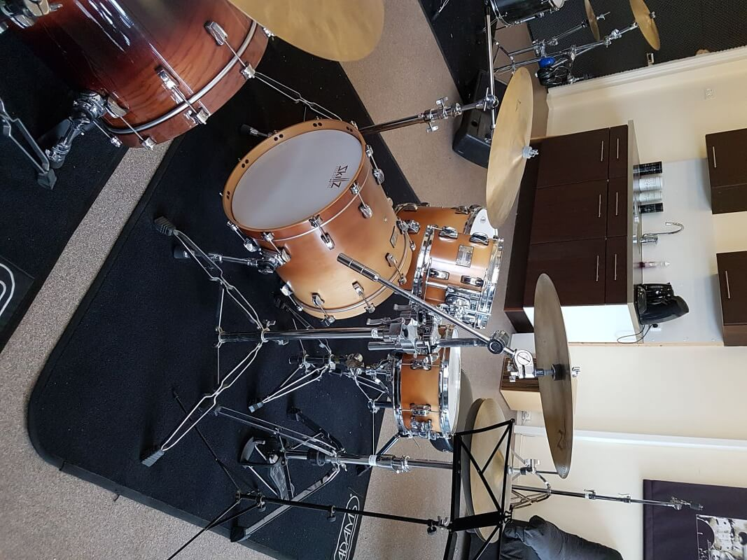 Shop Drumkits Odery Eyedentity Imbuia jazz front