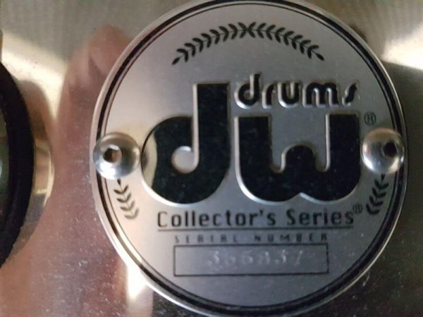 Shop Snares DW Collector's Aluminium 14 x 5,5 Badge
