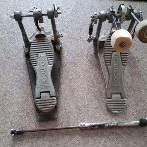 Te koop Tama Camco dubbel baspedaal double bass pedal