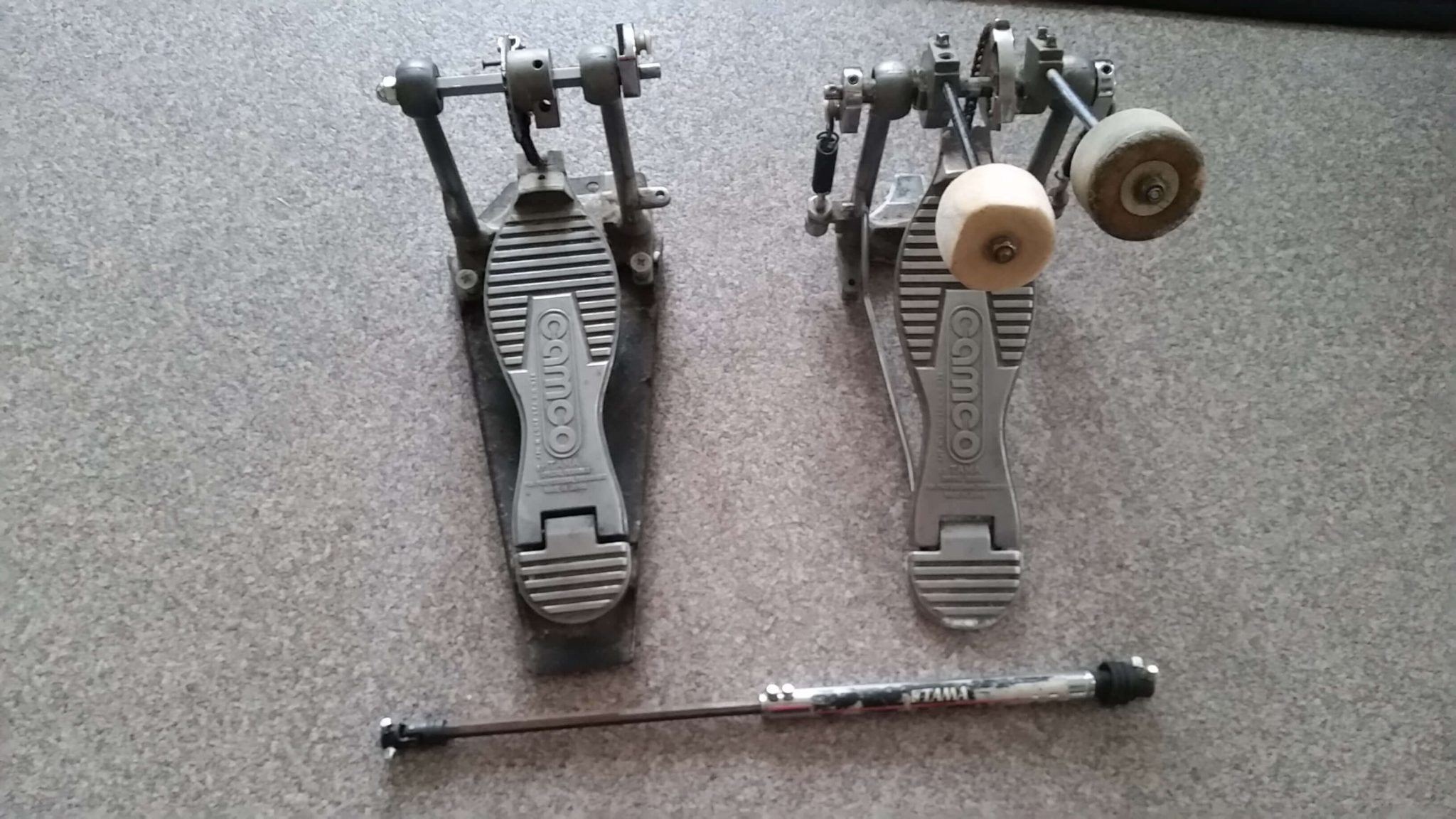 Te koop Tama Camco dubbel baspedaal double bass pedal
