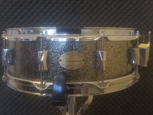 For sale Noble and Cooley N&C CD Maple snare14 x 4,5 in Silver Sparkle