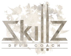 Logo Skillz Drum Coach - Online Drum Lessons