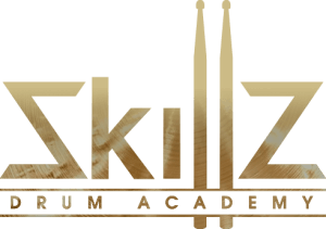 Skillz Drum Academy logo transparante achtergrond