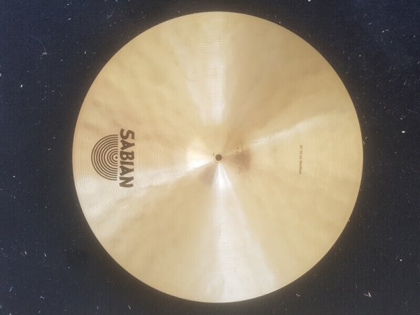 Sabian Artisan 20 Medium Back Front Skillz Drum Shop
