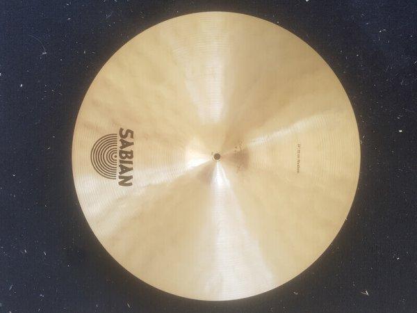 Sabian Artisan 20 Medium Back Front Skillz Drum Shop