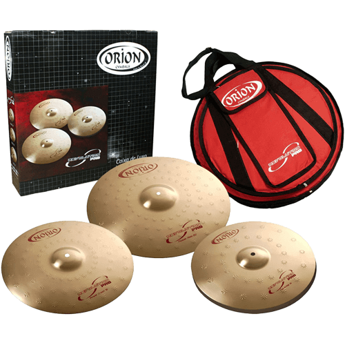 Orion Cymbal set bekkenset Skillz Drum Academy