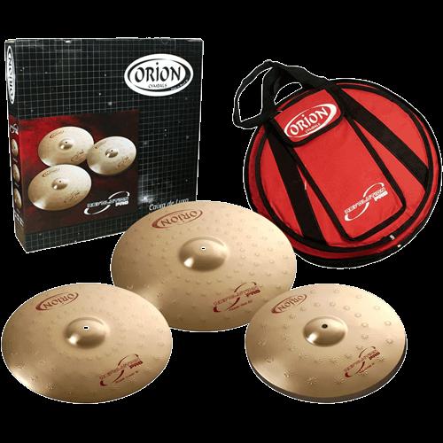 Orion Cymbal set bekkenset Skillz Drum Academy