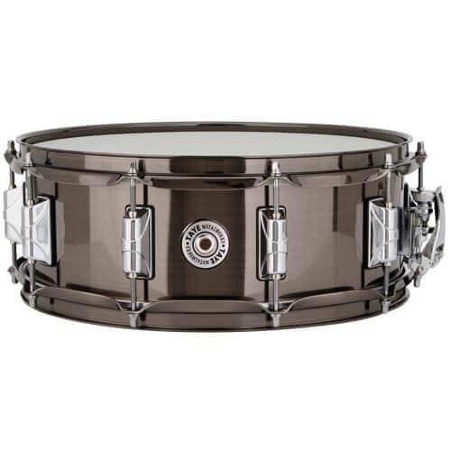 Taye Brass Black Nickel 14x5 snare Skillz Drum Academy