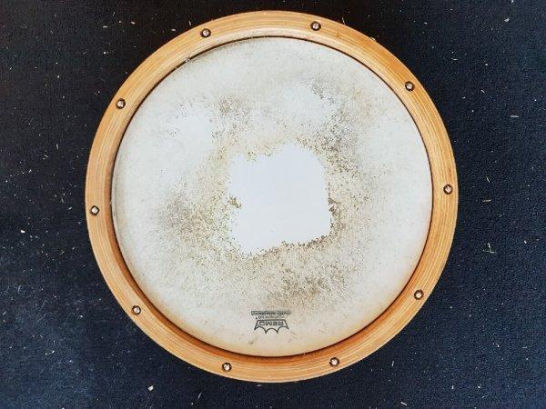 Foto van Skillz Drum Academy biedt aan Odery Studio Masters Woodhoop snare 14 x 5 bovenzijde
