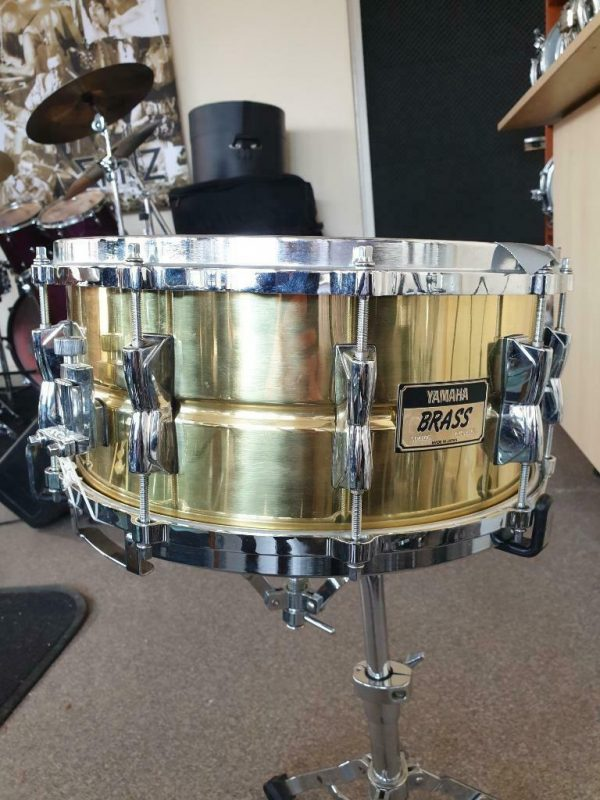 Yamaha Brass snare SD-4106 - 01