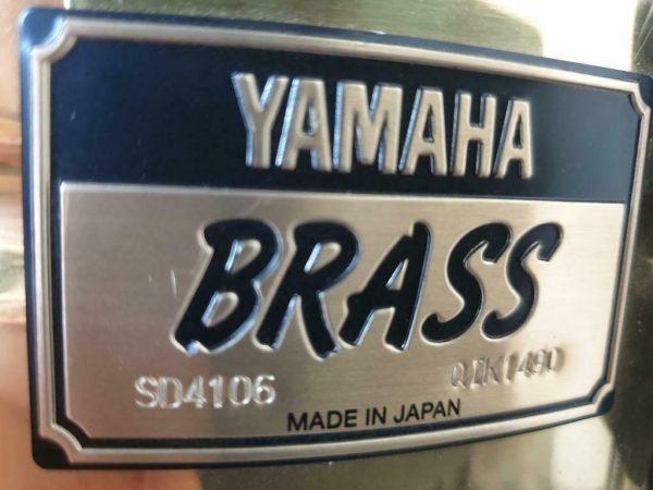 Yamaha Brass snare SD-4106 - 02
