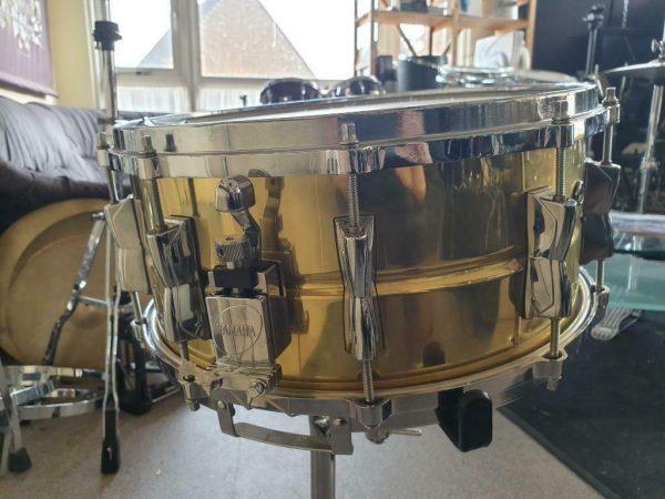 Yamaha Brass snare SD-4106 - 03