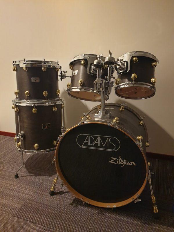 Adams 8000 shell set 22, 10, 12, 14, 16 foto 3 bij Skillz Drum Academy