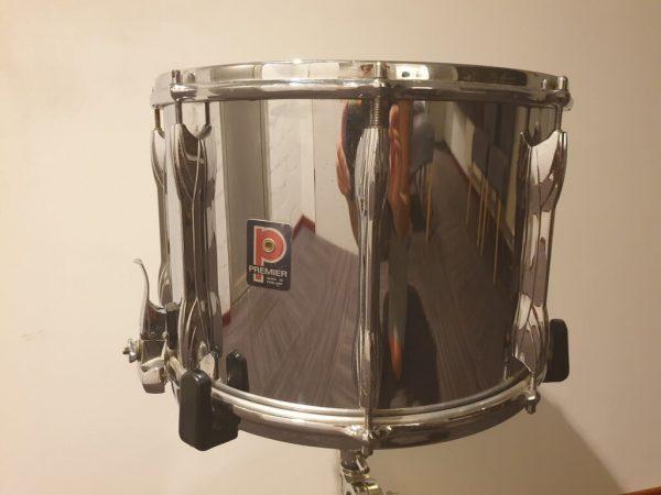 Premier 2078 14 x 10 Metal Snare Drum Deep Big Brother of Premier 2000 Skillz Drum Academy 01