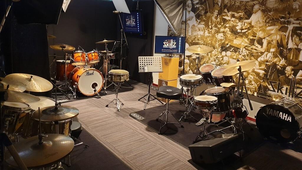 Overzicht Studio Skillz Drum Academy in Nederweert Limburg